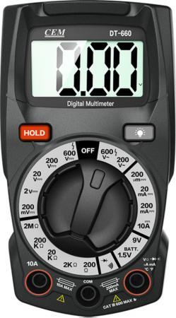 Мультиметр CEM DT-660 мультиметр cem dt 3290