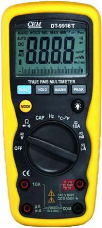 Мультиметр CEM DT-9918T цифровой true rms стоимость