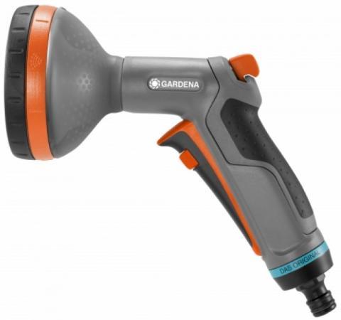 Пистолет-распылитель GARDENA Comfort 18315-32.000.00 многофункциональный 5 режимов распылитель пластиковый fit 5 режимов 77342
