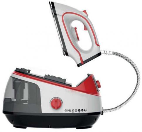 Фото - Утюг MIE Vapore 2300Вт белый красный чёрный 380757 утюг с парогенератором mie bravissimo