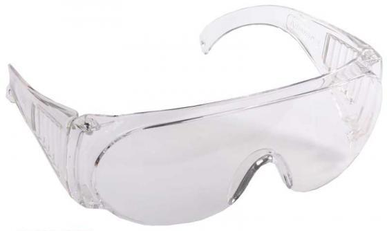 Очки DEXX 11050 защитные поликарбонатная монолинза с боковой вентиляцией прозрачные