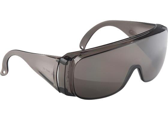 Очки СИБРТЕХ 89156 защитные открытого типа затемненные ударопрочный поликарбонат