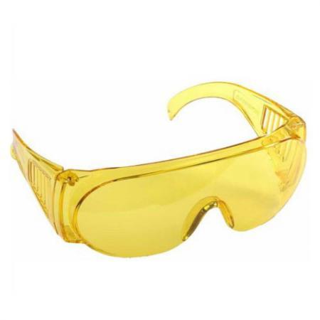 Очки STAYER 11042 standard защитные поликарбонатная монолинза с боковой вентиляцией желтые