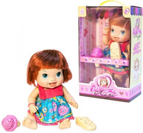 1toy кукла с мороженым (2шт.)Лакомка Лиза 36см,с каре,кор.
