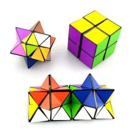 Антистрессовая игрушка 1toy Инфинити куб пластик Т11990