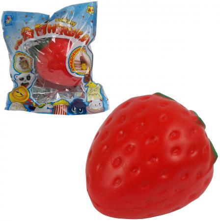 Антистрессовая игрушка клубника 1toy мммняшка красный полимер sima land антистрессовая игрушка заяц хрустик 05 цвет красный