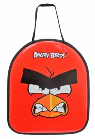 Ледянка 1toy Angry Birds до 60 кг полиуретан текстиль красный ледянка 1toy angry birds пластик рисунок