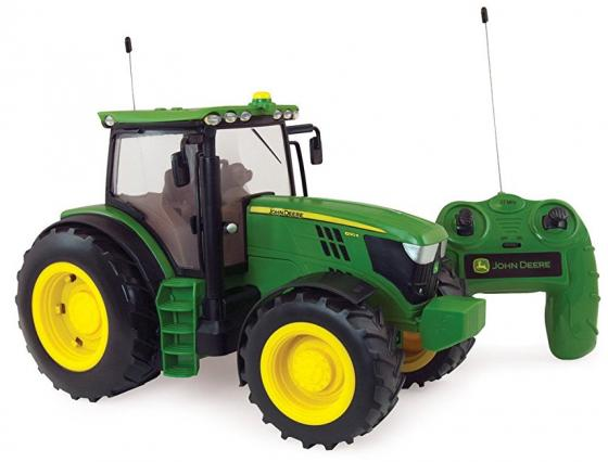 Трактор Tomy John Deere 6190R 1:16 зеленый Т11313 john deere original equipment seal m45400