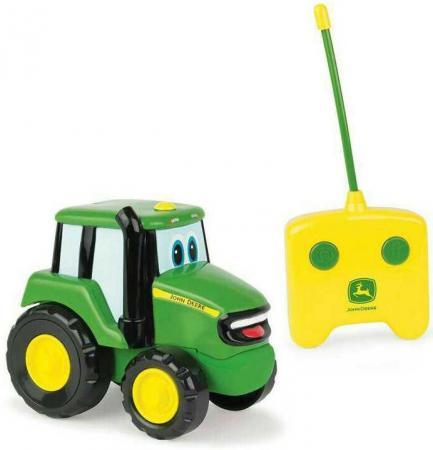 Трактор Tomy John Deere - Джонни зеленый Т11310 машины tomy трактор john deere 6210r