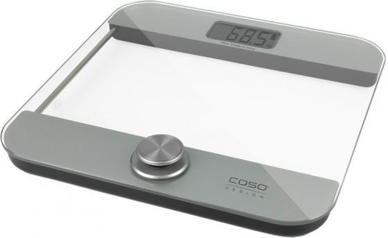 Весы напольные CASO Body Energy Ecostyle серый