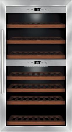 Винный шкаф CASO WineComfort 660 Smart серебристый винный шкаф caso wineduett touch 21