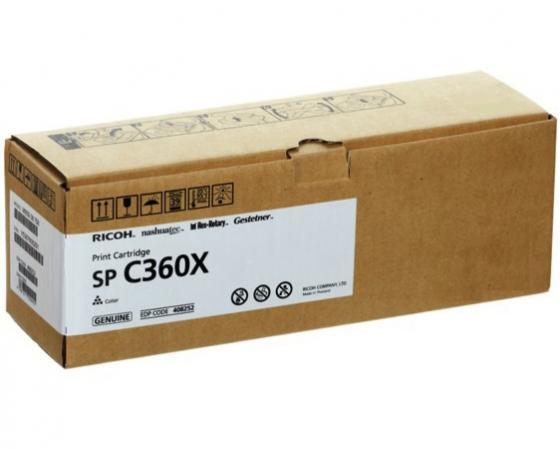 цена на Принт-картридж Ricoh SP C360X для SP C361SFNw пурпурный 9000стр