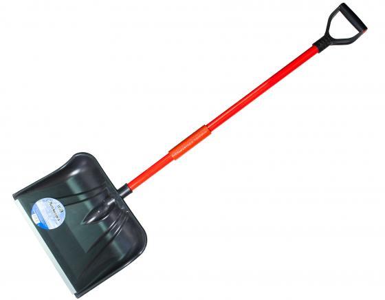 Лопата ЗЕМЛЕРОЙКА 0223 Лапландия для уборки снега скрепер землеройка 0240 пушер для уборки снега шир совка 740мм выс 570 длина 1460мм 32с