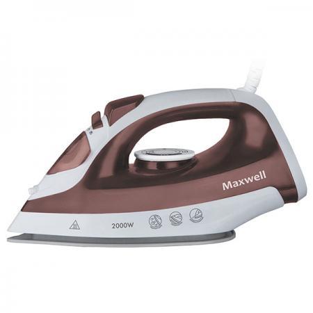 все цены на Утюг Maxwell MW-3051(ВN) 2000Вт коричневый