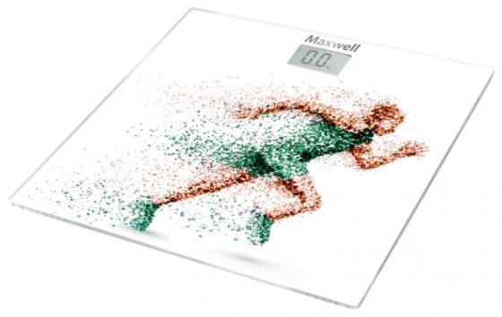 Весы напольные Maxwell 2667-MW(W) рисунок весы кухонные maxwell mw 1476 w белый рисунок
