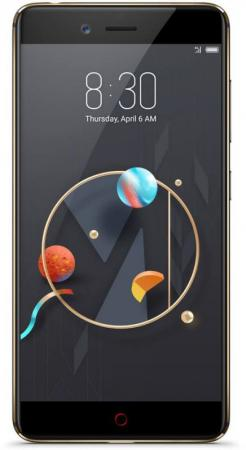 Смартфон ZTE Nubia Z17 Mini черный 5.2 64 Гб LTE NFC Wi-Fi GPS 3G смартфон zte blade a520 серый 5 16 гб lte wi fi gps 3g bladea520gray