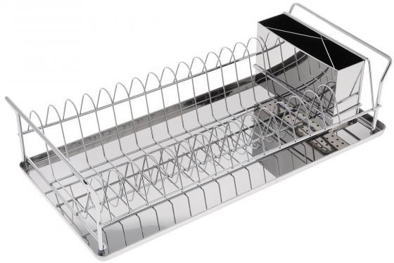5512-BK Сушилка для посуды BEKKER.45*21*11,5см Состав: нерж. сталь. сушилка для посуды bekker bk 5509