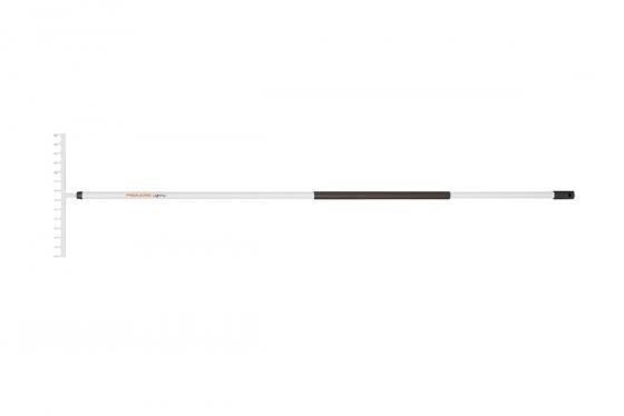Грабли FISKARS 135523 облегченные универсальные 14зубьями алюминевый черенок 1570х360мм 680гр стал грабли fiskars solid 135023 веерные деревянный черенок