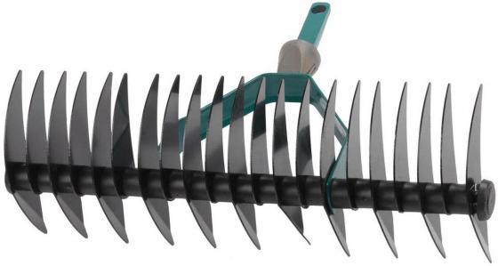 Грабли RACO 4230-53839 двухсторонние maxi с быстрозажимным механизмом 22 зубца / 350мм пайетки двухсторонние