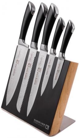 014-Hamilton Ножи и наборы ENDEVER Материал лезвия сталь, рукоятка сталь endever набор кухонных ножей на магнитной подставке 6 пр hamilton 014 endever