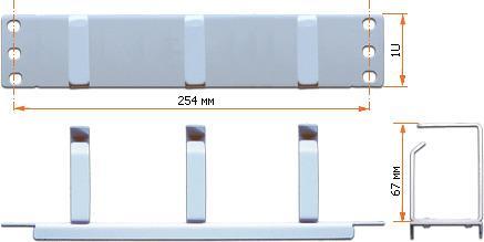 Органайзер TWT-ORG1U-3V/10 1U 3 кольца 200pcs ams1117 3 3v ams1117 1117 3 3v 1a voltage regulator ldo sot 223