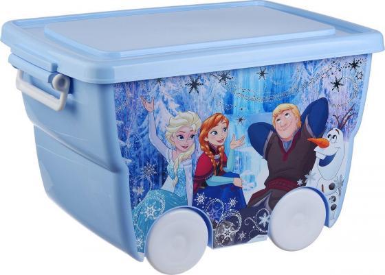 IDEA Ящик для игрушек Disney 24л голубой термокружка idea