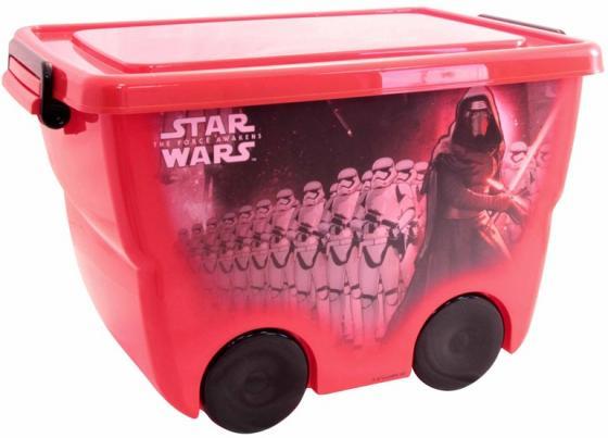 все цены на IDEA Ящик для игрушек Звездные войны 24л красный