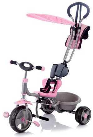 Велосипед трехколёсный Jetem Chopper розовый 1620