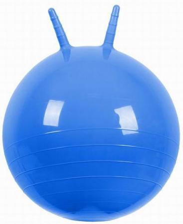 Мяч МалышОК Прыгун с рожками 50 см