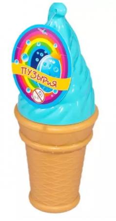 Мыльные пузыри ароматизированные Bubbleland Мороженое 120 мл russia мыльные пузыри кун фу панда 100 мл