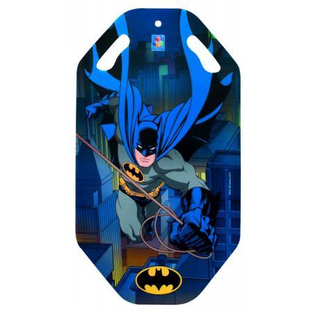 Ледянка 1toy Бэтмен до 100 кг пластик синий рисунок Т10470