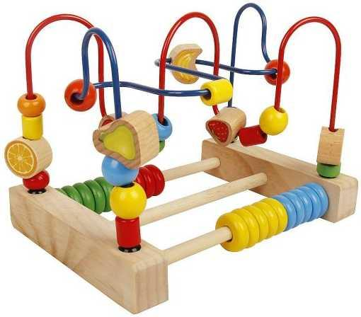 Интерактивная игрушка Наша Игрушка Лабиринт Фрукты со счетами от 3 лет SPYH173286 интерактивная игрушка наша игрушка телефончик е нотка от 18 месяцев цвет в ассортименте 60081