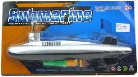 лодка подводная Наша Игрушка Лодка подводная — 32 см серый 100565298 подводная лодка подводная лодка f401 пакет в два треугольной туалетную клапана биде угла клапан пистолет фурма пакет