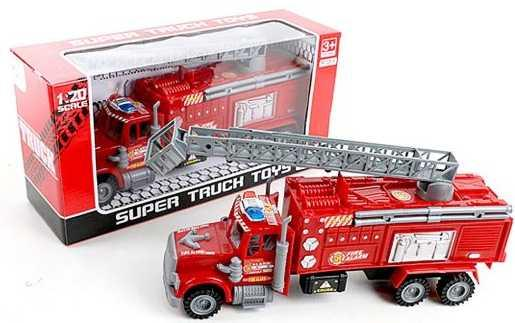 Пожарная машина Наша Игрушка Пожарная с телескопической вышкой красный 328-38 футболка с полной запечаткой для девочек printio на отдых
