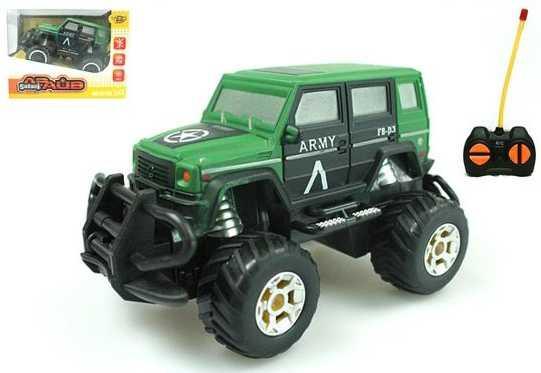 Джип Наша Игрушка Военный джип зеленый M6492