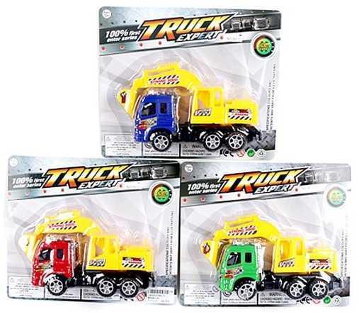 Грузовик Наша Игрушка Грузовая с ковшом желтый 991-3 грузовик наша игрушка грузовик оранжевый 11579 1