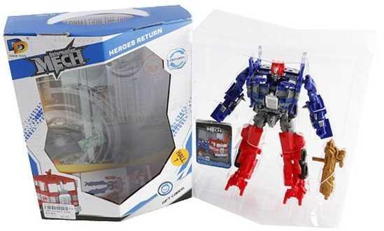 Робот-трансформер Наша Игрушка Робот-грузовик D622-E268 hap p kid игрушка робот red revo 3578t