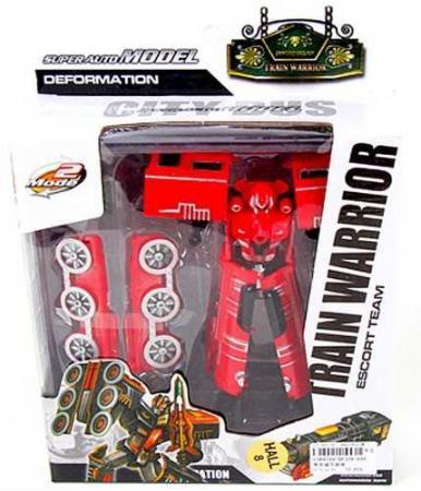 Робот-трансформер Наша Игрушка Робот-паровоз HF339-6AB hap p kid игрушка робот red revo 3578t