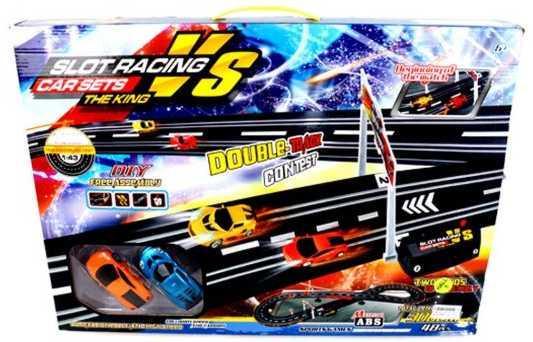 купить Игровой набор Наша Игрушка Автотрек разноцветный 42509-2B по цене 1780 рублей