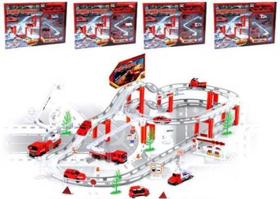 Игровой набор Наша Игрушка Пожарная служба разноцветный CM557-11 набор машинок siku пожарная служба 1818rus
