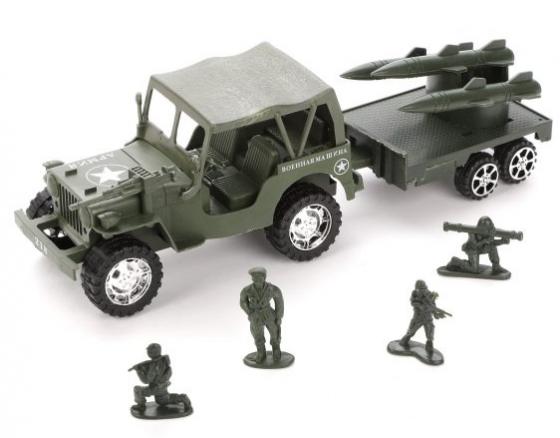 Игровой набор Наша Игрушка Военная техника 5 предметов