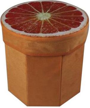 Корзина Солнечный Апельсин, 28*28*30 см, пакет