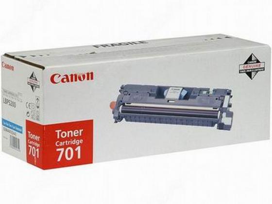 цена на Картридж Canon C-701C для Canon LBP5200/MF8180C голубой 4000 страниц