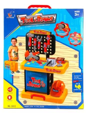 Игровой набор Наша Игрушка Чемоданчик Мастер 40 предметов ролевые игры игруша игровой набор продукты 10 предметов