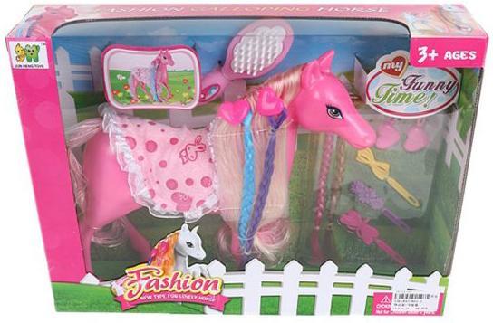 Игровой набор Наша Игрушка Модная лошадка 801-1 игрушка mehano 1 f101 набор рельс