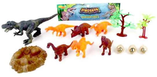 Набор фигурок Наша Игрушка Мир Динозавров 66650 набор фигурок наша игрушка морские черепашки 10 см px01 7