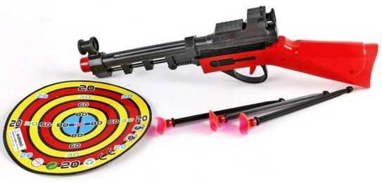 Набор для игры стрельба Наша Игрушка Ружьё с присосками S018 джейн берёт ружьё