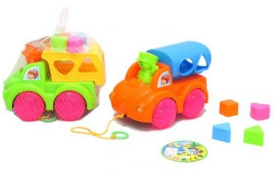 Каталка-сортер Наша Игрушка Машинка-сортер пластик на колесах цвет в ассортименте stellar игрушка каталка машинка цвет синий