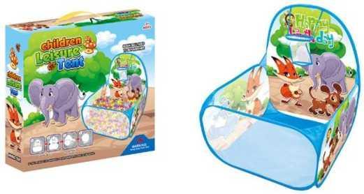 Манеж детский игровой Зверята, 59*59*74см, коробка детский манеж caitian