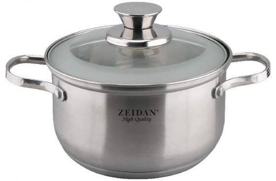 Кастрюля Zeidan Z-50284 20 см 4 л нержавеющая сталь цена и фото